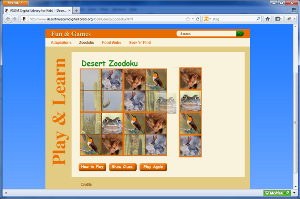 Desert Zoodoku